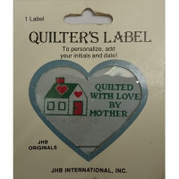 Quilter's Label - Quilted with Love by Mother (House)