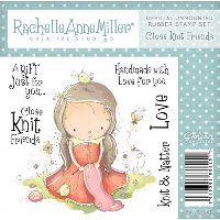 Rachelle Anne Miller Rubber Stamps - Knit