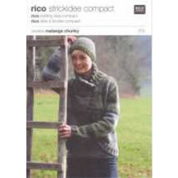Rico Knitting Idea Compact Pattern - Ladies' Chunky Jacket 015 76-102cm