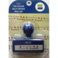 Around the Block - Self Inking Roller - Pets