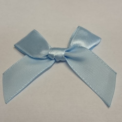Pre-Made Bows - Scatter Bows - 15mm Baby Blue (Pack of 2)