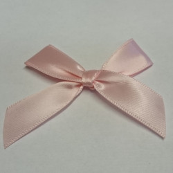 Pre-Made Bows - Scatter Bows - 15mm Pink (Pack of 2)