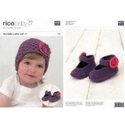 Rico Pattern 168 - Ballerinas and Hat - size 62-92