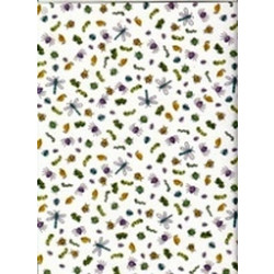 "Doodlebug - Scrapbook Paper - 12""x12"" - Itty Bitty Bugs"