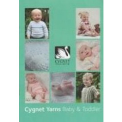 Cygnet - Baby and Toddler Pattern Book - 0/4 Years