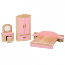 Dolls House Emporium - 112 Pink Kids Bedroom Set 2647
