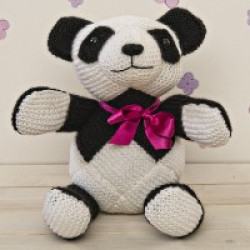 Knitted Penny Panda Kit