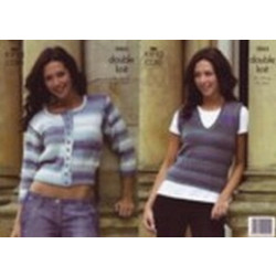 Mirage DK Ladies Cardigan and Top Pattern 3063 -81-112 cm