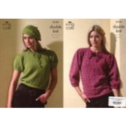 Moods DK Ladies Top and Sweater Pattern 3124 - 86-107cm - D
