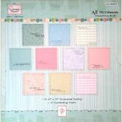 Dena's Closet - 12 x12 Papers/Transparency Book - All Occasion