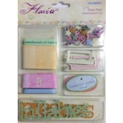 Colorbok - Flavia Embellishment Kit - Sweet Baby