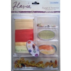 Colorbok - Flavia Embellishment Set - Daylight and Dandylions