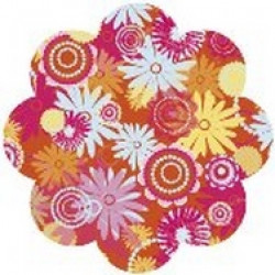 Autumn Leaves - MOD - Die Cuts - Red Gerbera