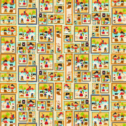 Twilley's Of Stamford - Pirates Panels Fabric - sold by the metre