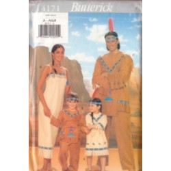 Butterick Pattern - Child's Costume - Sizes XS-L - 4171B