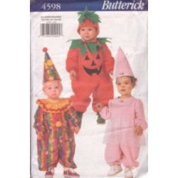 "Butterick Pattern - Infant's Costume (heights 25""-32"") - 4598"