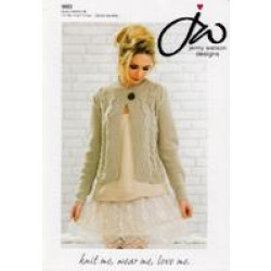 Ladies Pure Merino DK Jacket Pattern 5023