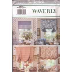 Butterick Pattern - Window Shades - One Size - 5290