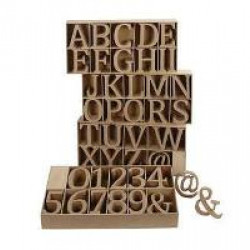 Large Wooden Number - 2