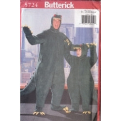 Butterick Pattern - Child's/Boys' Costume - Sizes XS-L- 5724