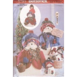 Butterick Pattern - Snowflake Family - One Size - 5785