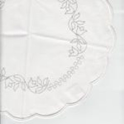 Rico Design tablecloth Tulip Medium Circle 59.41.1