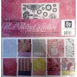 Prima - Petal Poetry Collection - 12x12 Scrapbook Page Kit