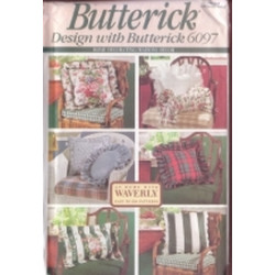 Butterick Pattern - Eight Pillows - One Size - 6097
