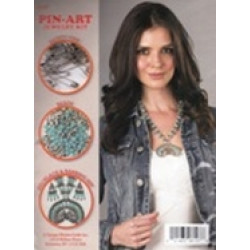 Design Works Crafts - Pin-Art Jewelry Kit - Blossom