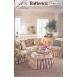 Butterick Pattern - Slipcovers - One Size - 6619