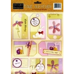 Delux Designs - Tag Alongs - Cardstock Stickers - Easter Tag Alongs