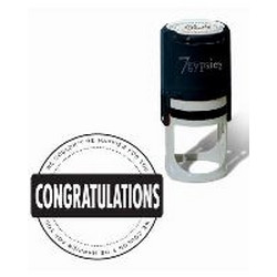 7gypsies - Seal Stamps - Congratulations