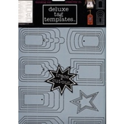 Delux Designs - Tag Templates - 1-T