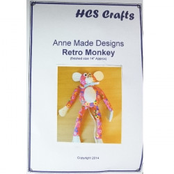 Make Your Own - Retro Monkey Kit