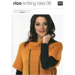 Rico Knitting Idea Pattern Booklet 06
