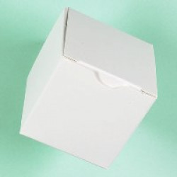 Small White Gift Boxes - 51 x 51 x 51mm