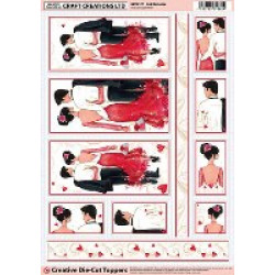 Craft Creations Creative Die-Cuts - Red Romance