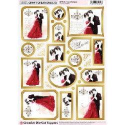 Craft Creations Creative Die-Cuts - Sweet Romance