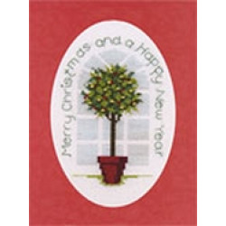 Derwentwater Designs Christmas Card - Holly Tree