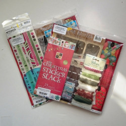 Pot Luck Papercraft Christmas Goodie Bag