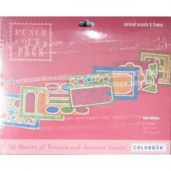 Colorbok - Punch Out Pad - Carnival Accents and Frames