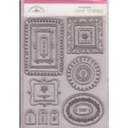 Doodlebug Design - Photopolymer Clear Stamps - Tags-P