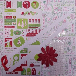 "Doodlebug Design - Christmas Tags and Tabs - 12"" x 12"" Page Kit"
