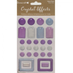 Dovecraft - Crystal Effects - Tags Etc - Purple/Blue