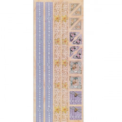 Embossed - Stickers - Borders & Photo Corners - Lilac Love