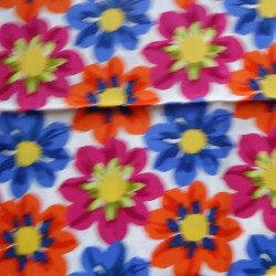 Fat Quarter - Big Flowers - Brights