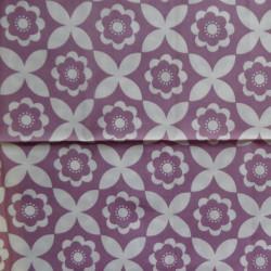 Fat Quarter - Big Flowers - Pinks