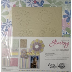 """Frances Meyer - Scrapbook Travellers Club - Giverny - 12""""x12"""" Page Kit"""