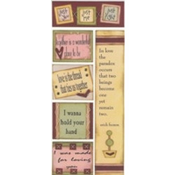 All My Memories - Herb Notes Stickers - All You Need Is Love