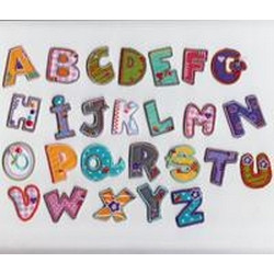 Kids Letters - Letter Patches
